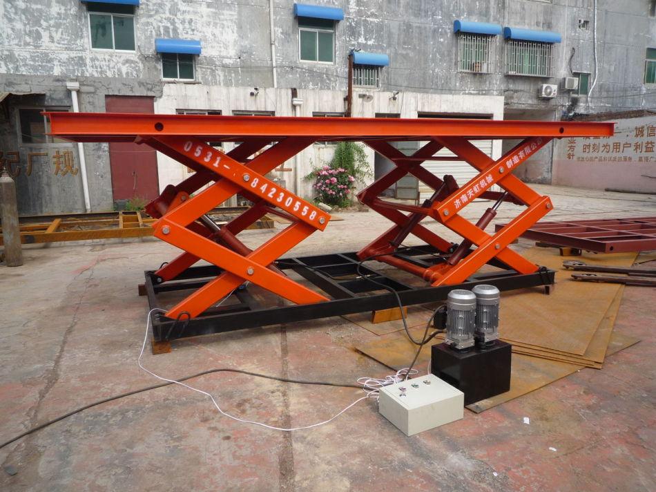 剪叉式搬运系统提升升降台工作效率