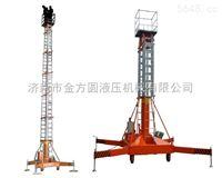 液压机械厂家直销高空作业平台套缸式升降机