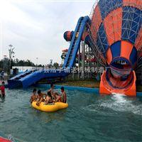 水上乐园设计 太空盘滑梯皮筏输送线 皮筏输送机